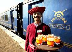 You can find a variety of really cool Indian trains to travel in.