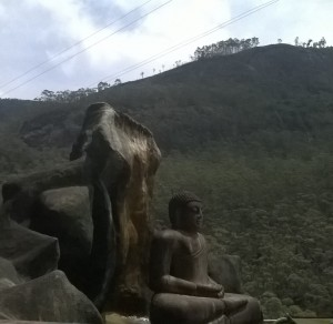 Lord Buddha statue Adams Peak