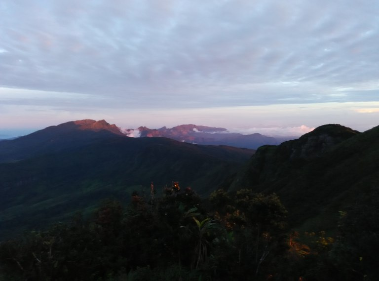 trekking and camping in knuckles range srilanka